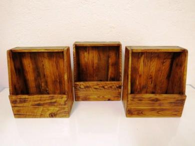 Portariviste in legno