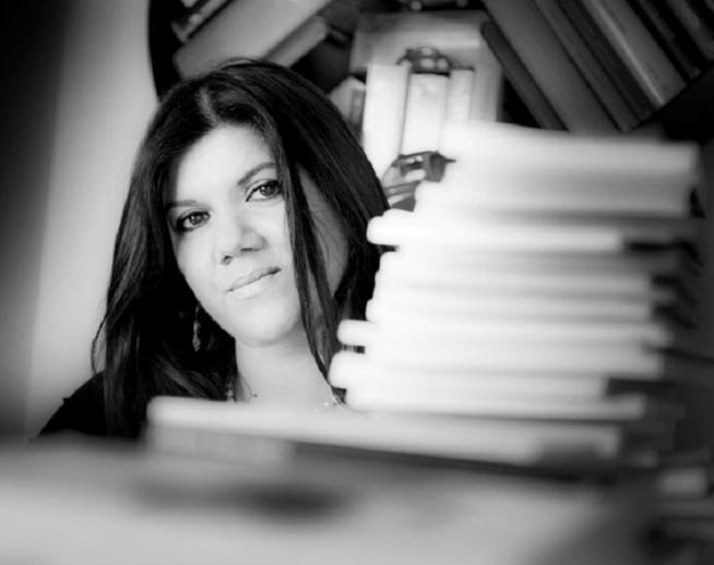 La scrittrice Gabriella Genisi