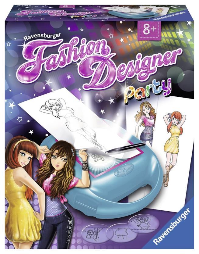 La scatola del gioco Fashion Designer