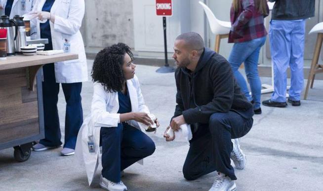 Una scena dell'episodio 15 di Grey's Anatomy 14
