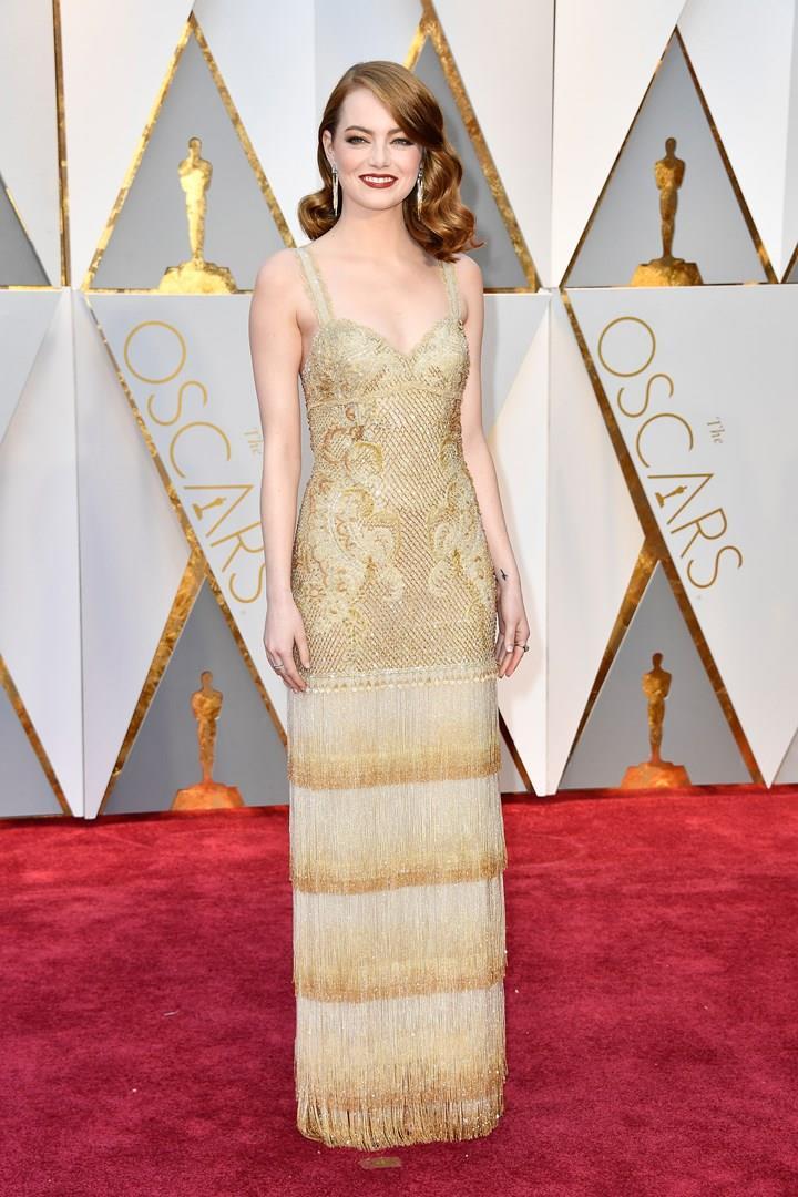 Emma Stone agli Oscar 2017