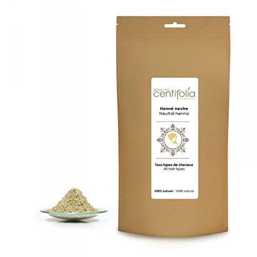 Busta di carta contenente la polvere di Henné