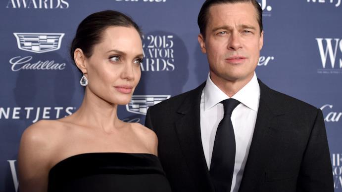 Angelina Jolie e Brad Pitt