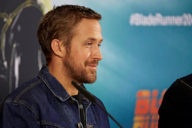 Ryan Gosling durante la presentazione di un film