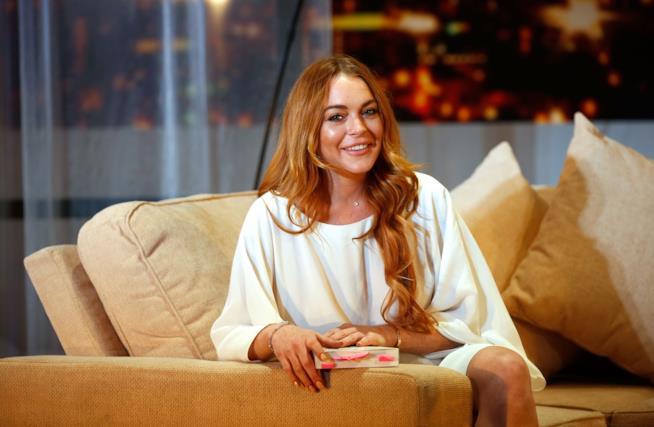 L'attrice Lindsay Lohan