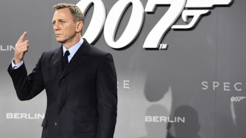 Daniel Craig sul red carpet