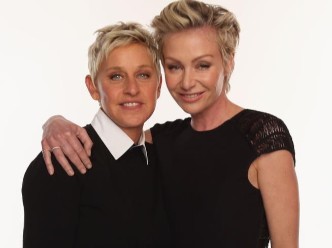 Portia De Rossi ed Ellen DeGeneres