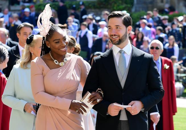 Serena Williams al Royal Wedding