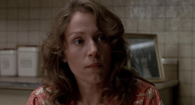 Una immagine giovanile di Frances McDormand in Mississippi Burning