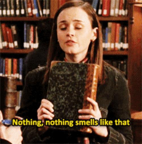 Alexis Bledel in una scena di Gilmore Girls