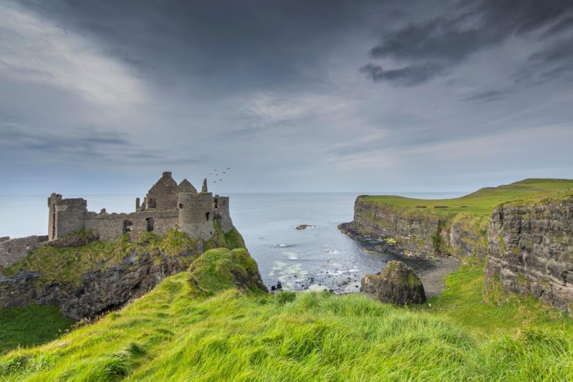 Il castello di Dunluce