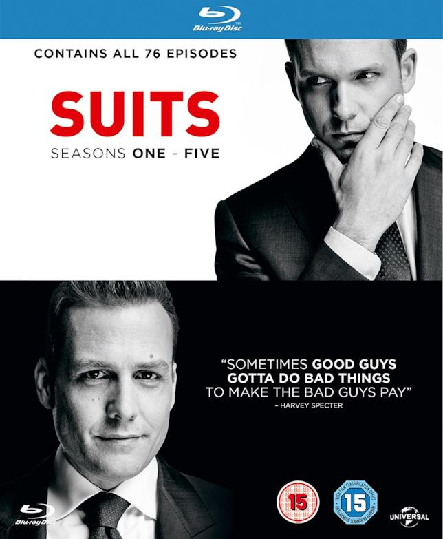 Cofanetto Blu-ray di Suits - Seasons 1-5