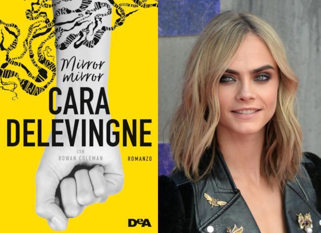 La copertina di Mirror Mirror, il libro di Cara Delevingne
