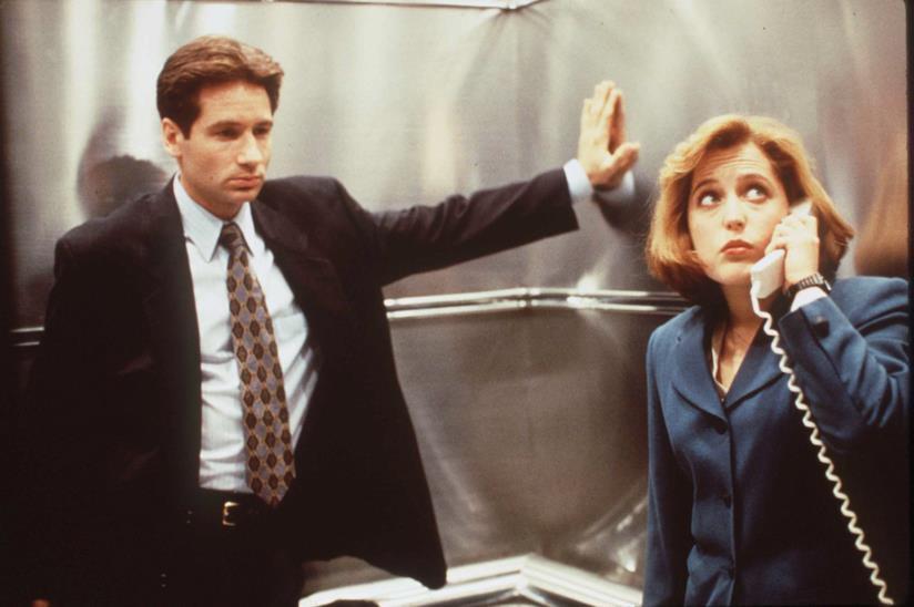 Mulder e Scully, i protagonisti della serie TV di culto X-Files