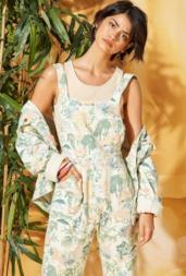 In The Jungle Apron Jumpsuit
