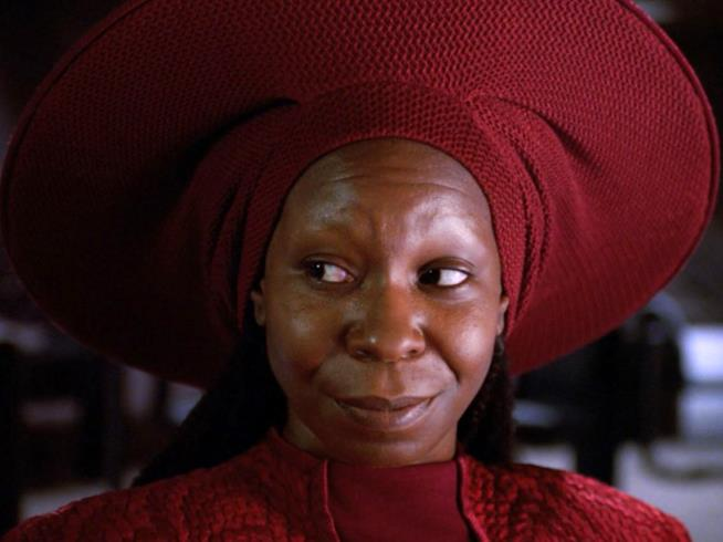 Guinan in Star Trek: The Next Generation