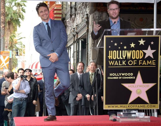 James Franco sulla Walk of Fame nel 2013