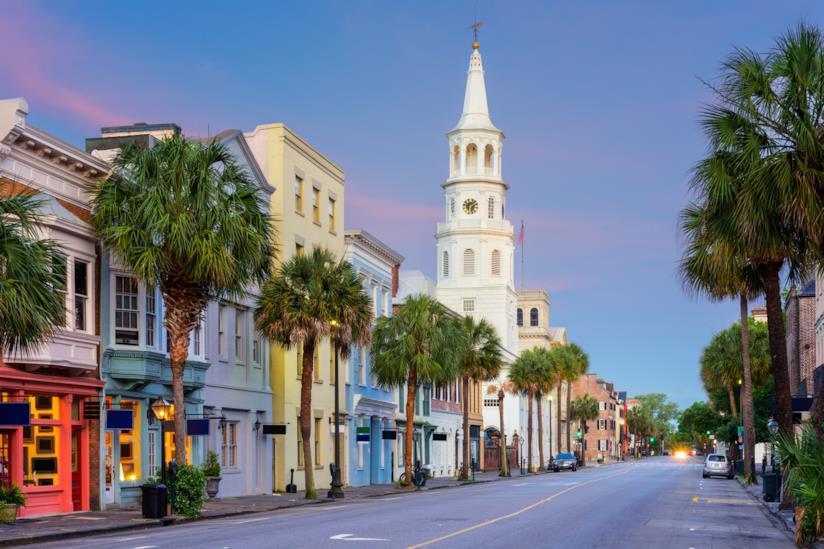 Un suggestivo e vivace scorcio di Charleston