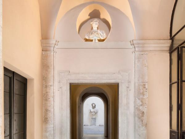 Una delle dimore storiche coinvolte da Cortili Aperti Roma