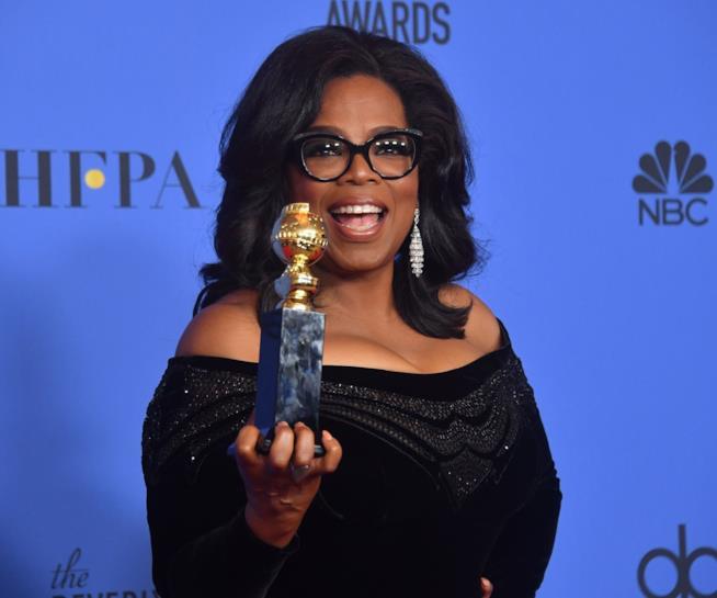 Oprah e il suo Golden Globe