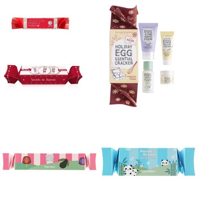 Christmas Crackers di TonyMoly, Too Cool For School, Polaar e Caolion