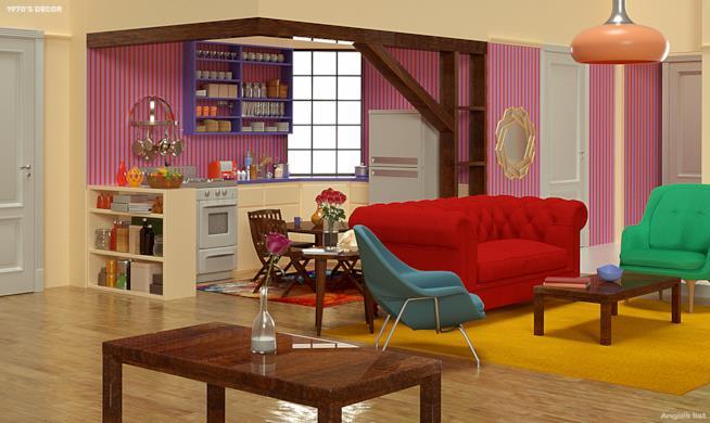 Appartamento di Monica anni Settanta