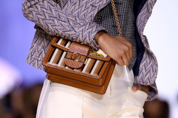 Borsa piccola a tracolla con logo Louis Vuitton
