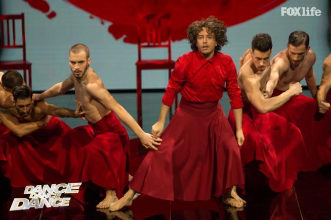 Laccio nell'esibizione del settimo serale di Dance Dance Dance 2