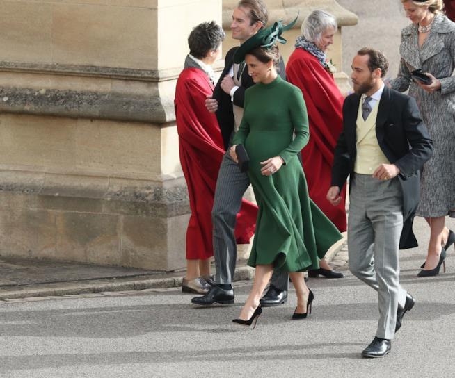 Pippa Middleton col pancione