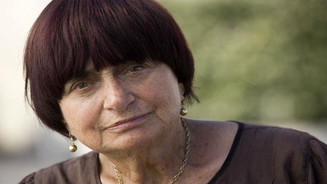 La regista Agnès Varda
