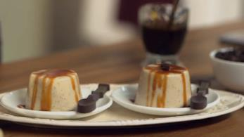 Dessert di ricotta al caffè