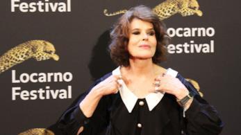 L'attrice Fanny Ardant a Locarno 2017