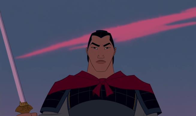Li Shang nel cartone Mulan