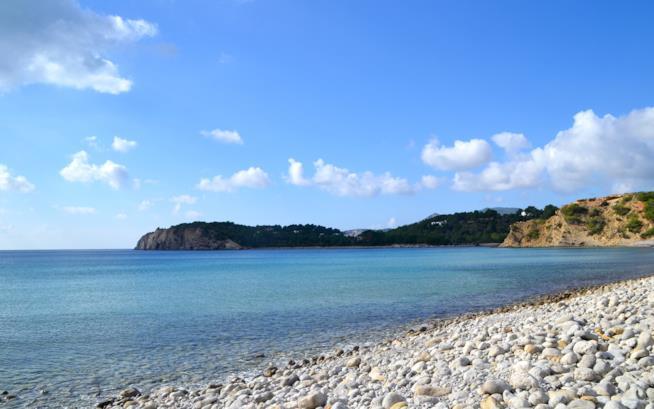 Playa de Cala Jondal, Ibiza