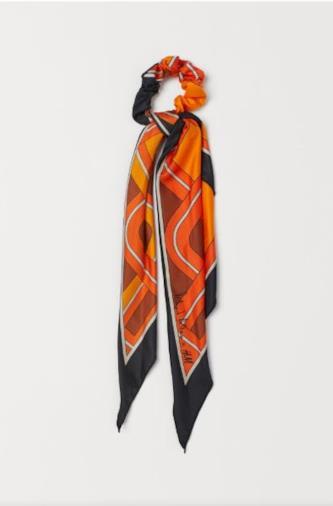 Elastico arricciato a foulard