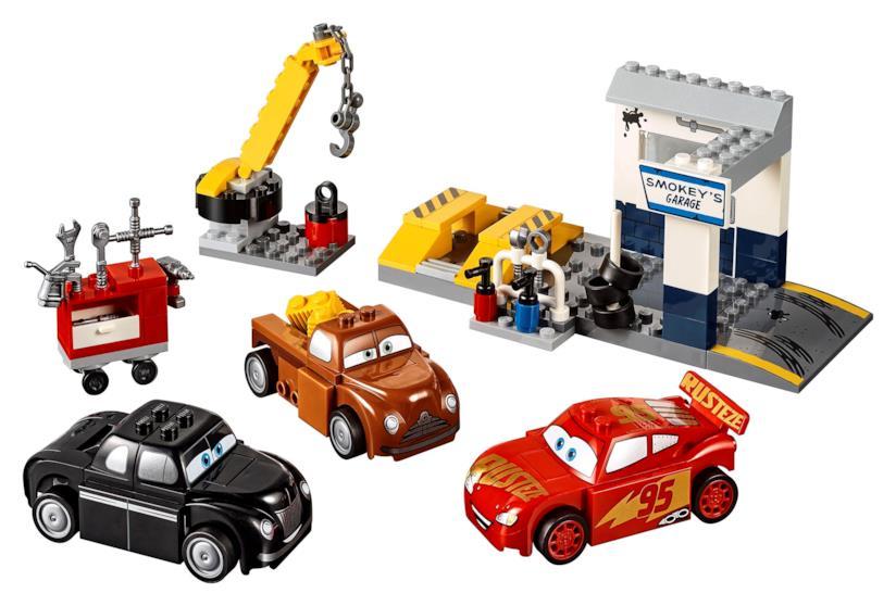Lego Juniors Il Garage di Smokey: contenuto