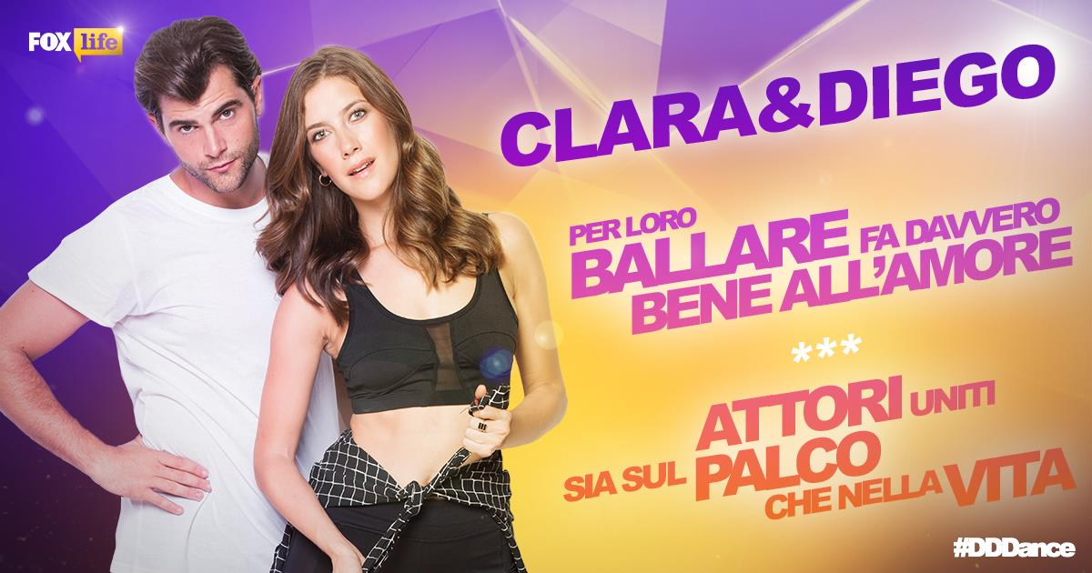 Clara Alonso e Diego Dominguez