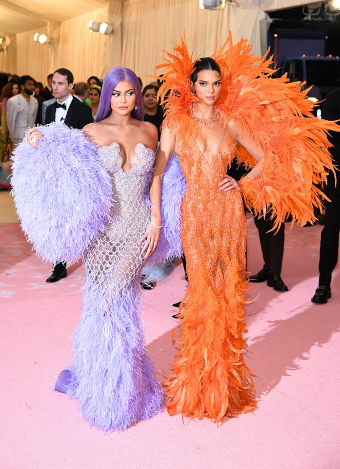 Kylie e Kendall Jenner al MET Gala 2019