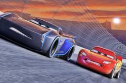 Un scena del film Cars 3