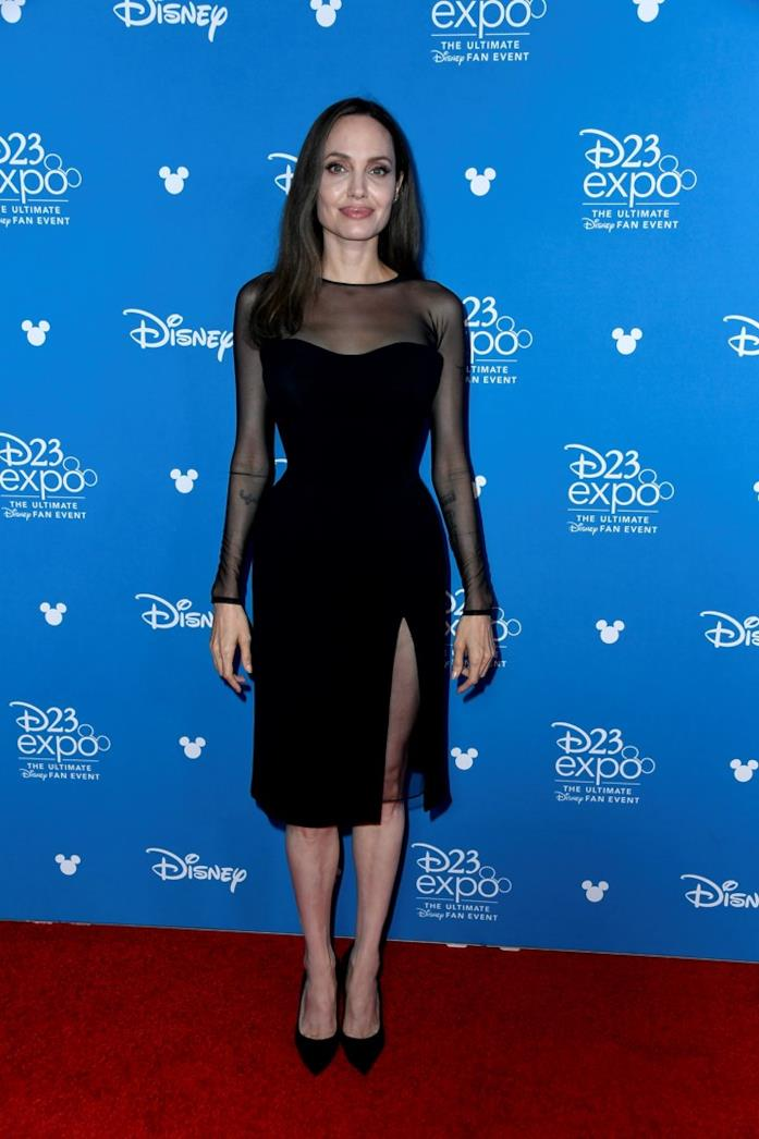 Angelina Jolie sul red carpet di D23 Expo