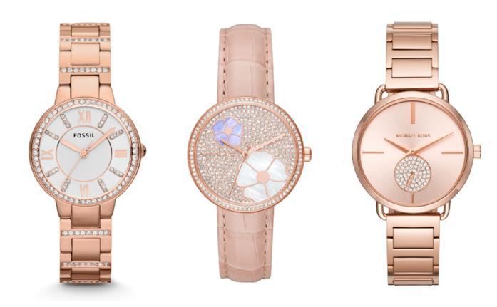 Rosa oro, gli orologi di moda per l'estate 2018