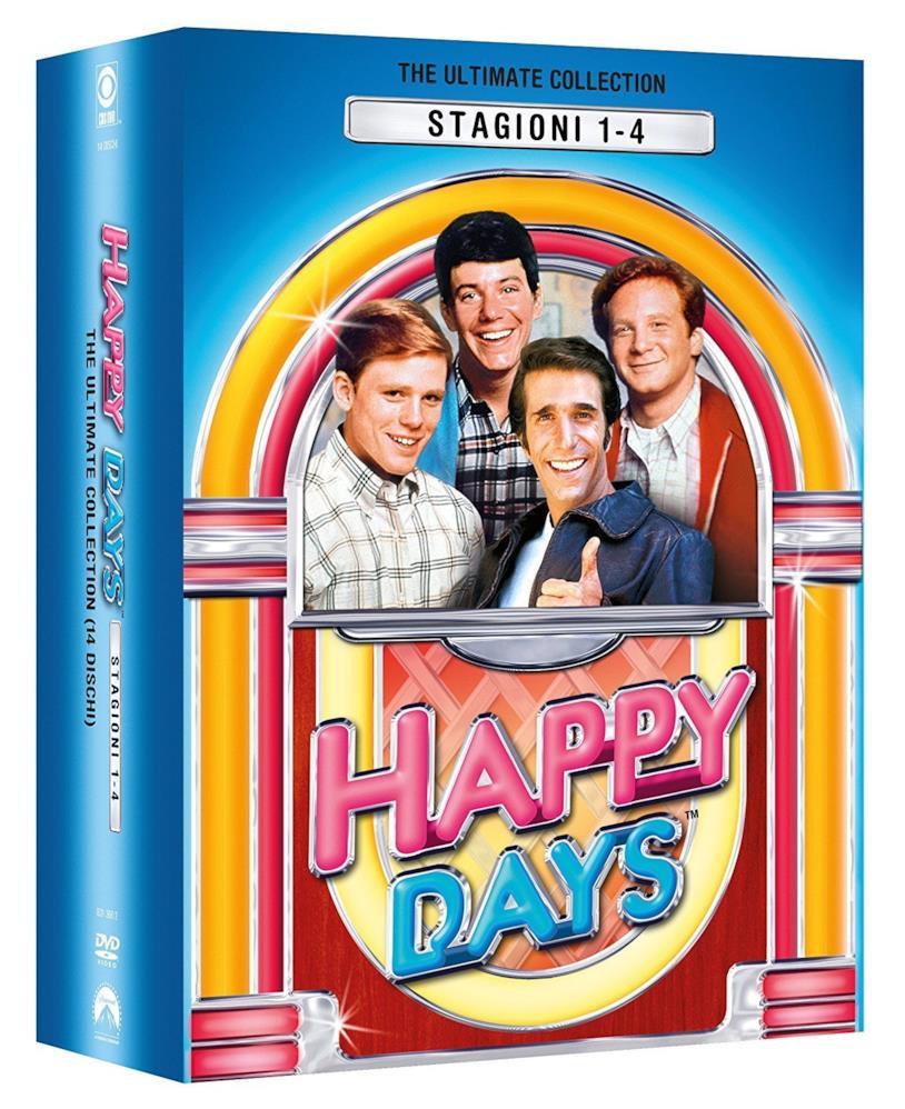 Cofanetto DVD di Happy Days - Stagioni 1-4
