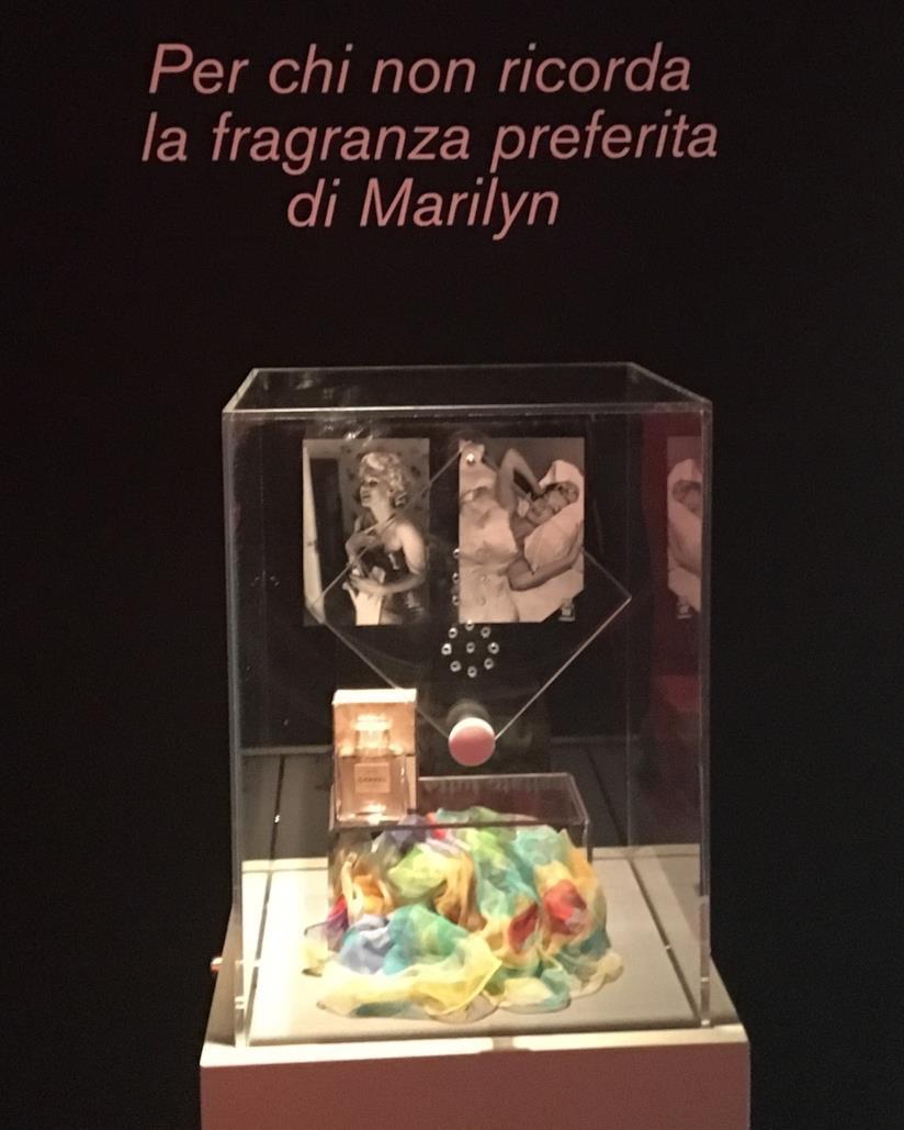 La boccetta di Chanel n. 5 appartenuta a Marilyn