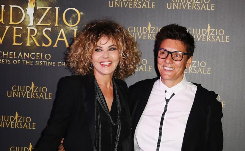 Eva Grimaldi e Imma Battaglia in primo piano