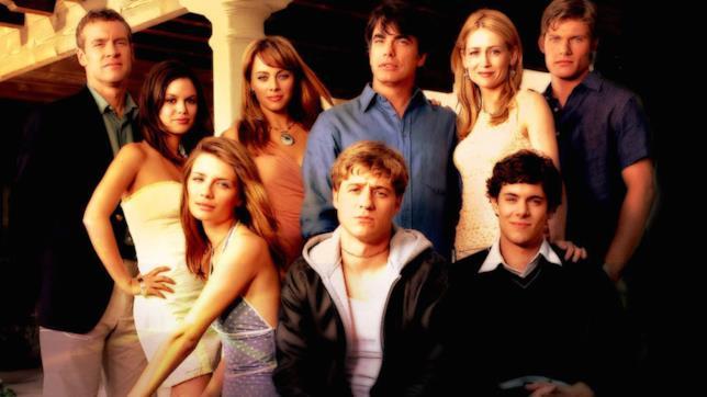 I personaggi di The OC in un'immagine promozionale