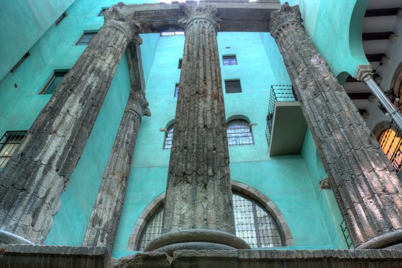 Le Quattro Colonne del Tempio d'Augusto
