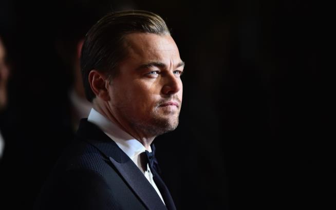 Leonardo DiCaprio in primo piano