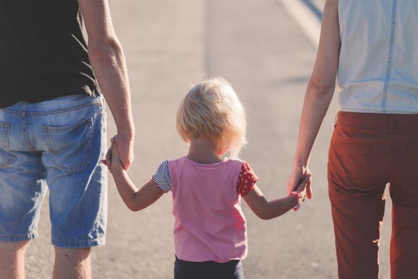 Genitori e figlia
