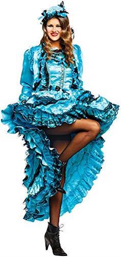 Costume di Carnevale da Lady BurlesqueTravestimento Veneziano