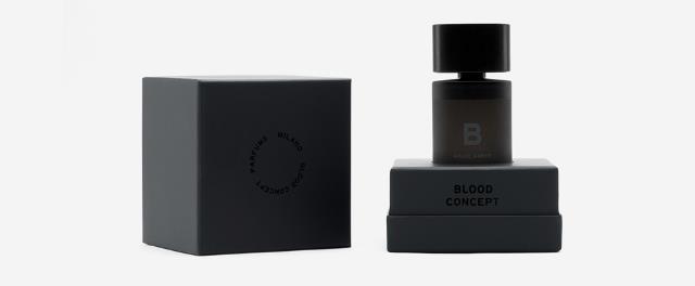 0, Blood Concept, profumo di sangue